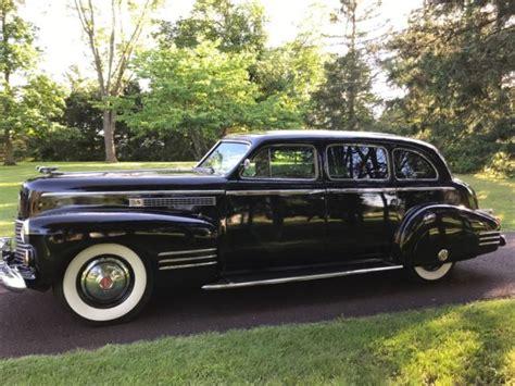 cadillac touring sedan 1941 cadillac fleetwood series 75 touring sedan limousine