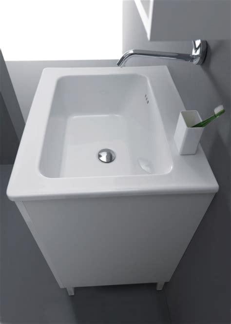 lavelli lavanderia mobile bagno lavanderia 60x50 nanco con lavabo lavatoio in