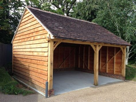 Timber Garage Plans by 1000 Images About Timber Framed Carports On