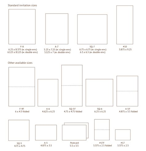 Place Card Template Dimensions by Invitation Sizes Also On This Page Envelope Styles Sizes