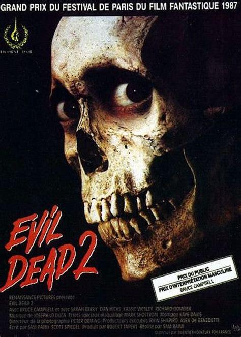 film evil dead evil dead 2 film 1987 senscritique