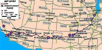 united states map showing route 66 image gallery highway 66 map