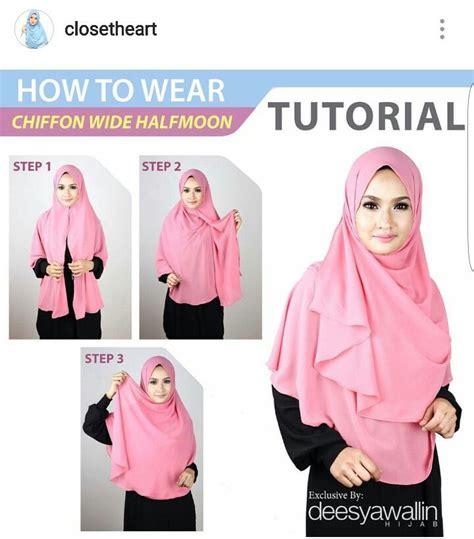 tutorial pashmina chiffon best 25 tutorial shawl chiffon ideas on pinterest hijab