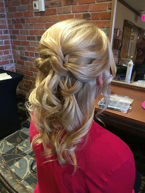 wedding hair  bride  mother