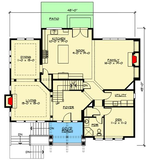 formal plan with angled garage 69353am architectural for the front sloping lot 23404jd architectural