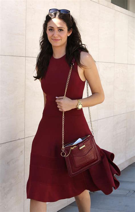 emmy rossum red dress emmy rossum in red dress 05 gotceleb