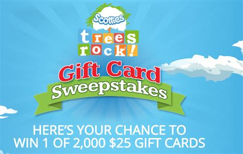 Free 25 Gift Card - enter to win 1 of 2 500 free 25 visa gift cards from scotties