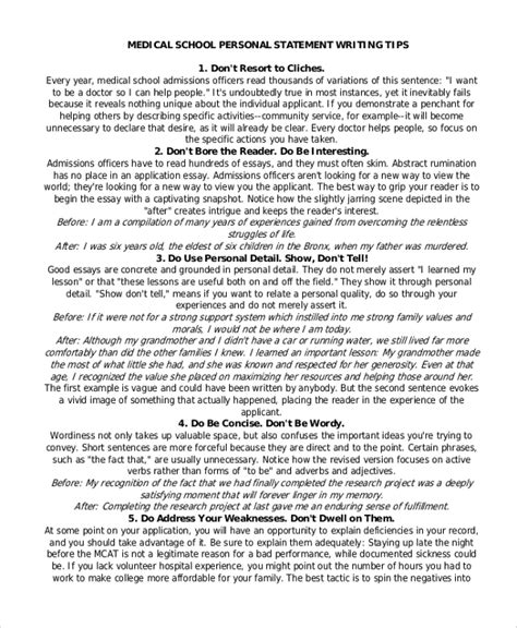 Words To Avoid In College Essay by Writing Personal Statements For School 7 Tips For Your School Personal