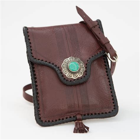 Handmade Pouch - western handmade pouch four winds west