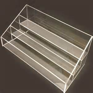 acrylic stand new clear acrylic 3 tier nail polish display stand holder