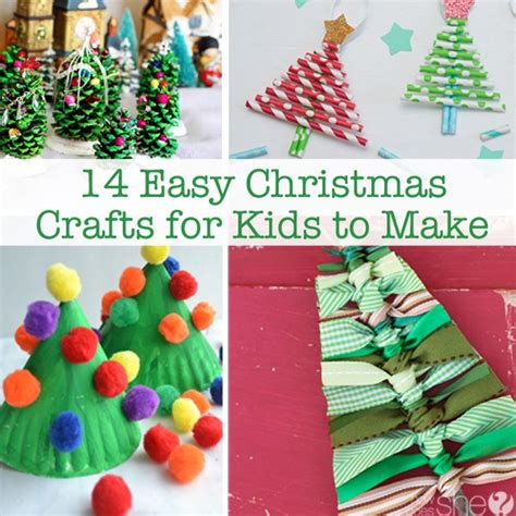 14 easy christmas crafts for kids to make how does she
