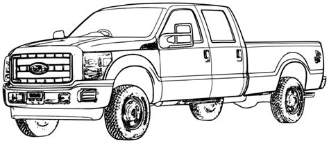 ford trucks coloring page ford f 350 truck coloring pages coloring pages