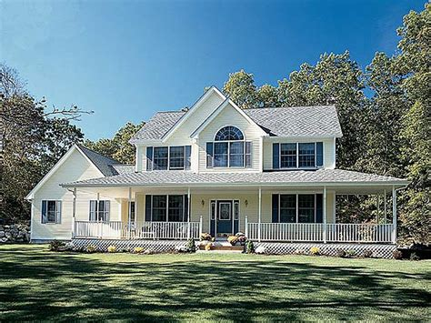 country farmhouse plans with wrap around porch choose the right new homes plans when planning your home the house plan shop