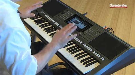 Keyboard S970 yamaha psr s970 arranger workstation keyboard demo by s doovi