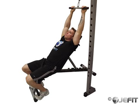 incline bench back exercises cable back incline pushdown exercise database jefit