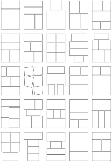 novel layout template panels and bubbles the graphic novel