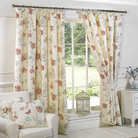 pink and cream curtains pink cream birdcage floral curtains tony s textiles