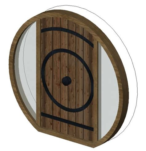 revitcity object hobbit door