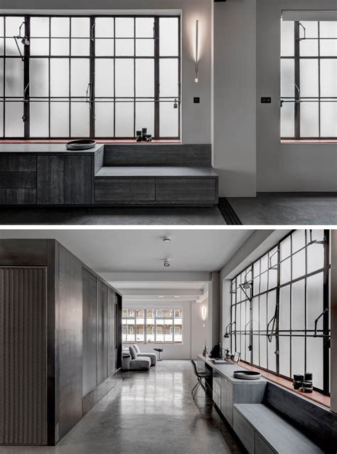 inspired apartment with industrial touches this apartment s industrial interior was inspired by the