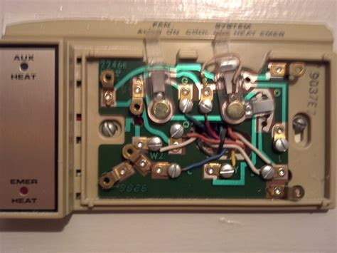 white rodgers thermostat for heat wiring diagram