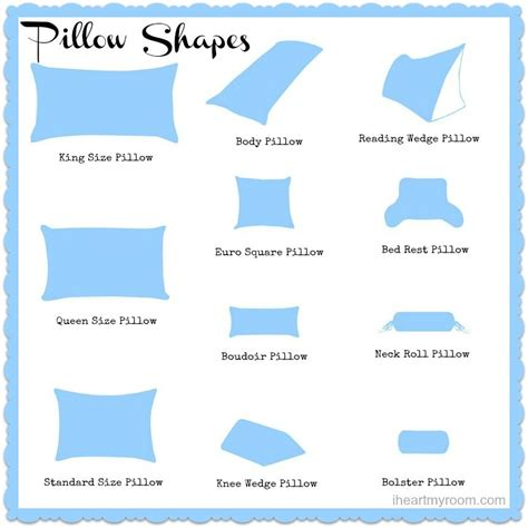decorative bed pillow types different pillow sizes explained different strokes for