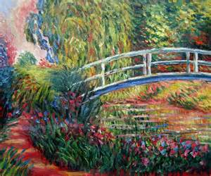 Claude monet oil paintings traditional artwork wichita by