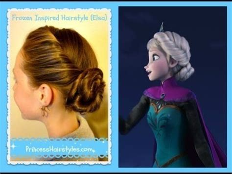 forzen haircuts elsa hairstyle inspired by disney frozen coronation