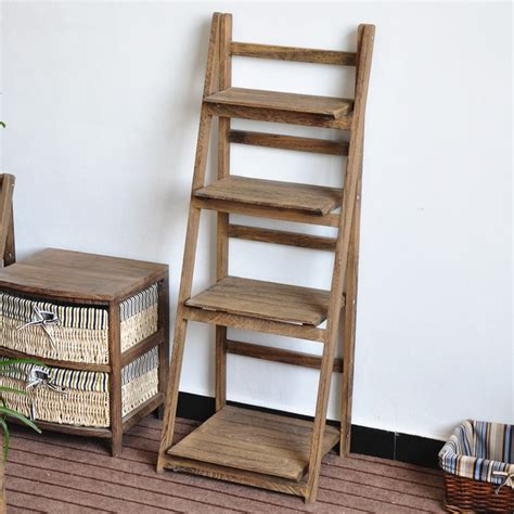 etagere ydf 4 tiers brown wooden flower shelf buy 4 tier wood shelf