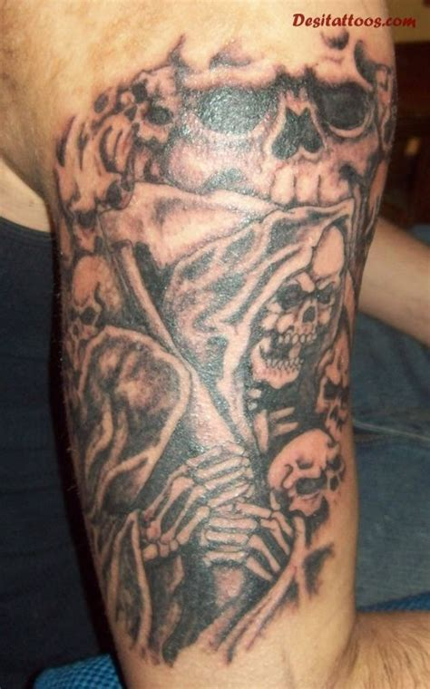 right arm half sleeve tattoo designs graveyard images designs
