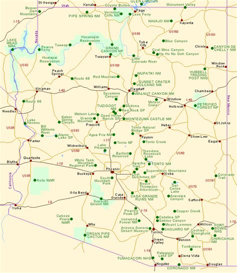 zyras full az site index full version all on one page 2015 map of arizona