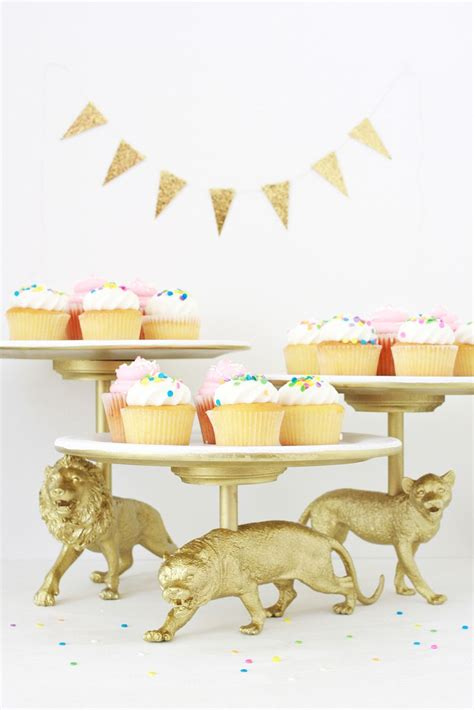 Paint Ideas For Bathroom Walls wild cat cake stand diy a beautiful mess
