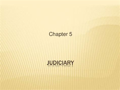 Judicary Search Judiciary