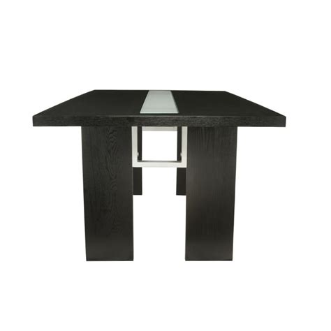 Led Dining Table Furniture Of America Jalen Led Dining Table In Espresso Ebay