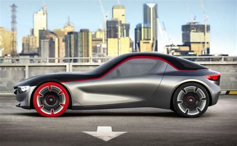 opel gt concept en route pour 232 ve automobile