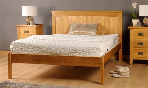 Handmade Wooden Bed Frames - rezzo handmade bed frame groupon goods