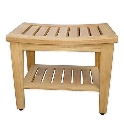teak shower bench canada haven teak shower bench bed bath beyond