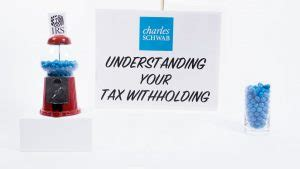 understanding  tax withholding