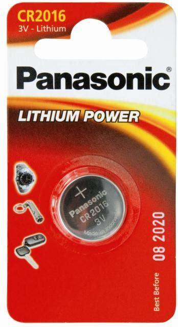 Baterai Cr2016 panasonic 3v coin lithium battery cr2016