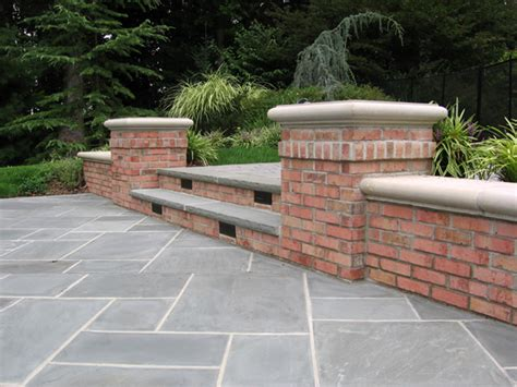 Backyard Masonry Ideas Patio Wall Design For Pools Landscaping Nj