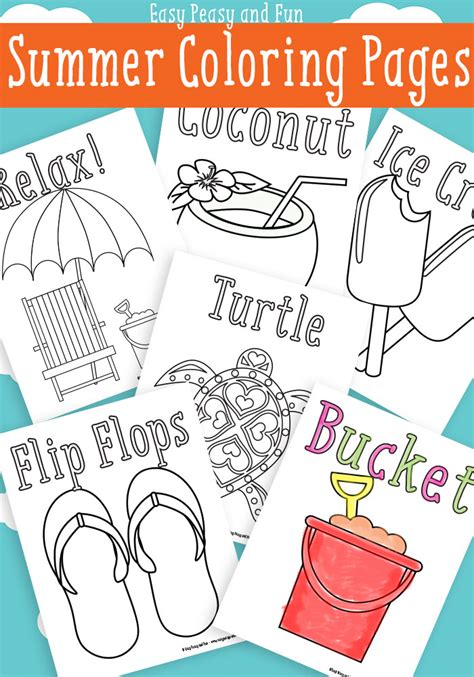 printable preschool summer activities free printable summer worksheets for kindergarten free