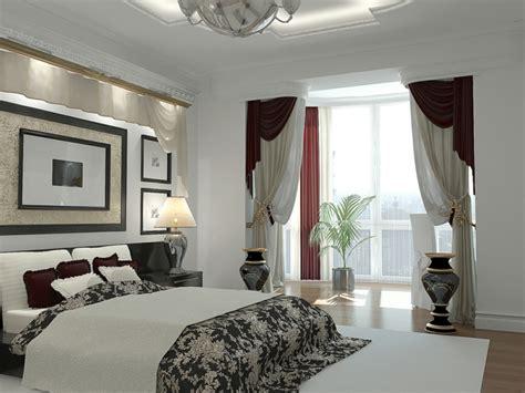 Blue And White Bedroom by Gardinen Ideen Als Dekoration F 252 R Kleine Wohnungen