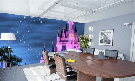 disney murals wall childrens wallpaper disney wallpaper castle wall mural