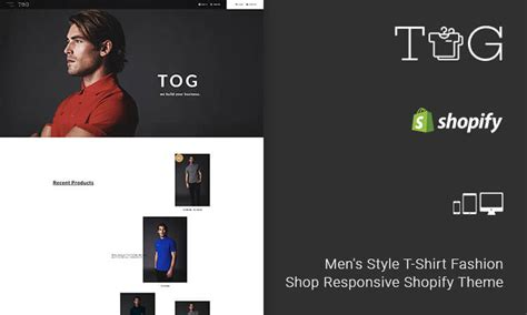 shopify themes for t shirts tog men s style t shirt fashion shop responsive shopify