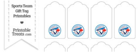 Blue Jay Gift Cards - large toronto blue jays logo cut out printable treats com