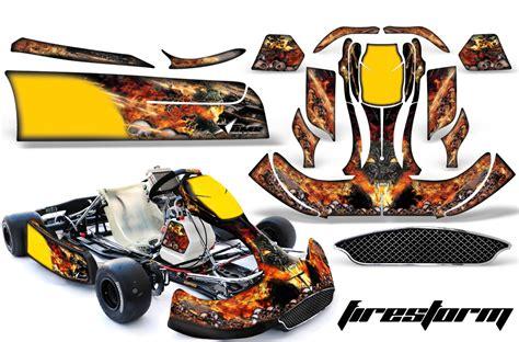 5712 Handfat Karet Racing Orange crg shifter kart graphics sticker kit for new age bodywork