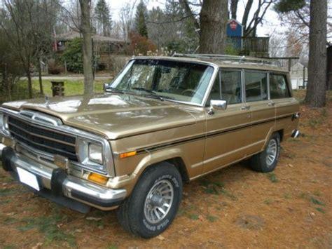 1988 Jeep Grand Wagoneer Sell Used 1988 Jeep Grand Wagoneer 4x4 In Uniontown Ohio