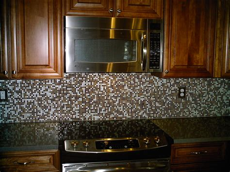 Kitchen With Mosaic Backsplash Glass Tile Kitchen Backsplash Designs Carisa Info