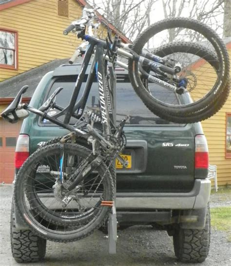 swing out bike rack bike rack addition to spare swing out ideas ih8mud