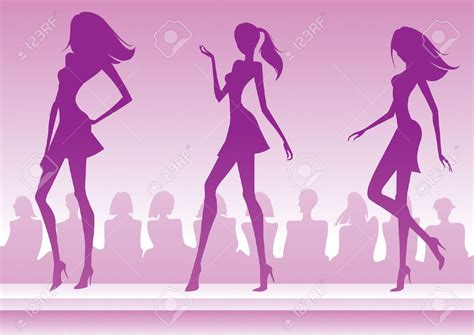 fashion clipart clipart models runway clipground