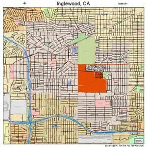 inglewood california map 0636546